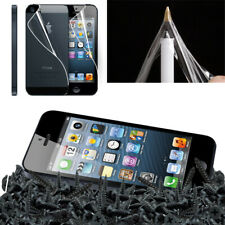 Clear Front Screen Protector LCD Body Film Foil Cloth Guard For Apple iPhone 5