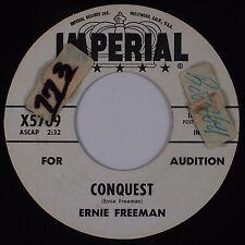 ERNIE FREEMAN: Conquest / Swingin'  USA IMPERIAL DJ Promo Popcorn Soul 45 Hear