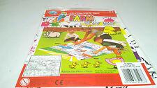 Farm playmat-couleur de votre propre playmat avec crayons-stocking filler-neuf