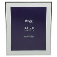 Mayfair Silver Plate Photo Frame With Bevelled Mount 8x10 (20x25cm) Bsn13880