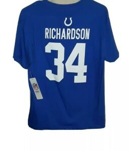 NWT!! NFL Indianapolis #34 Trent Richardson Jersey Shirt! Youth 18/20.
