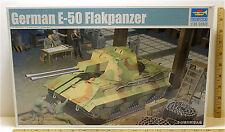 2010 Trumpeter German E-50 Flakpanzer 1:35 WW2 Plastic Model Kit #01537 NIB A+++