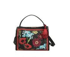 Nanette Lepore Athena Shoulder Bag Crossbody NWT Vegan Leather Floral Print