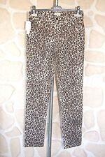 Jeans motif léopard neuf taille 38  marque Ernest étiqueté à 179€