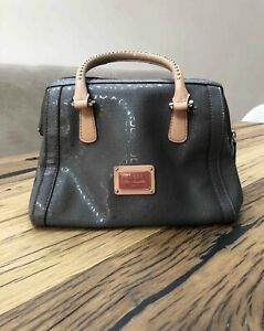 Guess Bowling style Bag in grey GG pattern