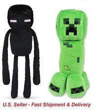 Minecraft Plush Toys - Creeper and Enderman (Set of 2)