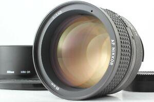 【 MINT++】Nikon AF Nikkor 85mm f/1.4 D Portrait Prime for F Mount Lens from JAPAN