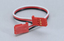 Futaba Gyro fin double Ext Lead - 130mm/Red