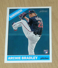 2015 Topps Heritage high # Archie Bradley rookie action variation #599