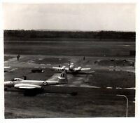 Photograph Gloster Meteor PR 10 RAF St Athan 1950's Spy Plane Aircraft 10b