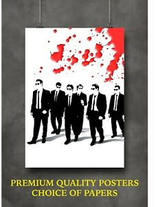 Reservoir Dogs Classic Movie Art Large Poster Print Gift A0 A1 A2 A3 A4 Maxi