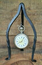 New Pocket Watch Stand Holder Display Hanger Hand Forged Iron USA Made