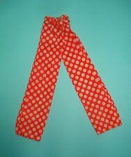 Vtg Barbie 70s Best Buy Doll Clothes Tricot Polka Dot Pants 1974 7813 #2