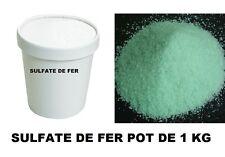 SULFATE DE FER  BOITE 1000 grammes