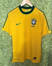 BRASIL NATIONAL TEAM 2010 2011 HOME FOOTBALL SHIRT SOCCER JERSEY SIZE M
