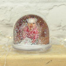 Personalised Photo Acrylic Liquid Filled Snow Globe