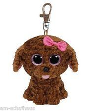 Ty Beanie Boo Baby Glubschi Clip Hund Maddie Plüsch Schlüsselanhänger 7136618