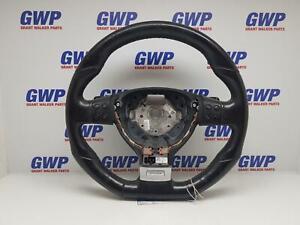 VOLKSWAGEN GOLF GEN 5 R32 BLACK LEATHER STEERING WHEEL  R32 GTI 2004-2010
