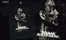 ANAAL NATHRAKH-Vanitas-Grindcore band,BLACK T-shirt-SIZES: S to 7XL
