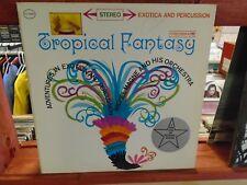 Michel Magne Tropical Fantasy Exotica LP Columbia [6 EYE] EX  lentricular cover