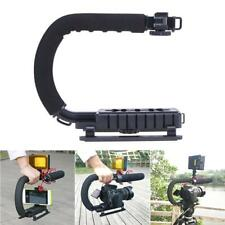 C/U Shape Bracket Handle Grip Stabilizer for DSLR Camera Camcorder Video Canon
