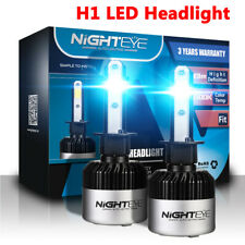 NIGHTEYE H1 LED Headlight Kit Bulbs Replacement Lamp 72W 9000LM/Set 6500K White