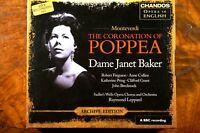 Monteverdi - The Coronation Of Poppea, Dame Janet Baker, Leppard -  CD, VG, UK