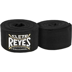 Cleto Reyes Hook and Loop Protection Handwraps - Black