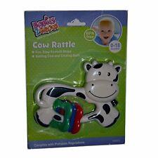 Babies 2 Grow Cow Rattle Bpa Free 0-18 mos.