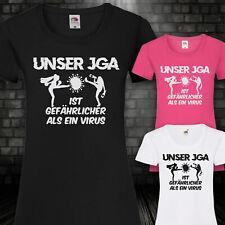 T-shirt jga camisa corona peligroso novia soltera señora xs-5xl
