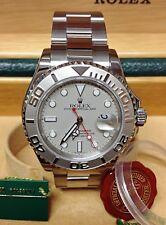 Rolex Yacht-Master 16622 40mm PLATINUM Lunetta-Box & Scartoffie 2004