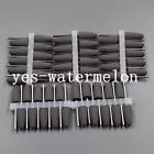 50 Pcs Black New Dental Lab SILICONE Rubber Polishers Diamond Polishing Burs