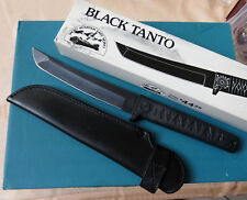 BLACK TANTO Japan Tactical Fighting Dagger 0115 - NEW Smoky Mountain Knife Works