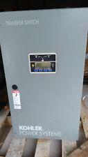 Kohler KSS-DCVA-0080S Transfer Switch, 80A, 208V, 4 Wire, 3 Phase, 4 Pole, 60Hz