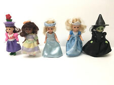 "Madame Alexander Wizard of Oz McDonalds Happy Meal Toy Lot (5) 5"" Dolls Munchkin"