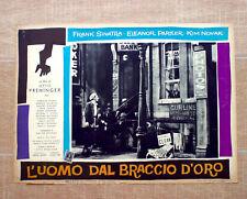 L'UOMO DAL BRACCIO D'ORO fotobusta poster Sinatra The Man with the Golden Arm S7
