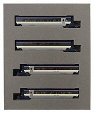 Kato N gauge 10-1298 EUROSTAR New Color 4 Cars Add-on Set (N scale) JAPAN