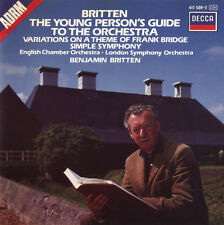 CD Britten English Chamber Orchestra The Young Person's Guide To The Orchestra