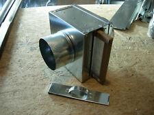 Fresh Air Intake Filter box HVAC system Duct Air Filter  collars 6