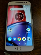 Motorola Moto G4 Plus 64GB(XT1644)- White - GSM Unlocked- See Below