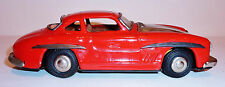 NOMURA Japan Tin Litho Friction '50s MERCEDES BENZ 300SL GULLWING w/ PISTON ACT