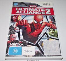 Marvel Ultimate Alliance 2 Nintendo Wii PAL *Complete*
