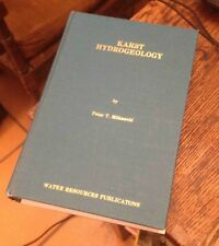 KARST HYDROGEOLOGY Milanovic 1981 WATER RESOURCES Free US Shipping Rare!
