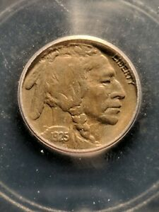 """1925-S RARE """"TWO FEATHERS FS-401""""  BUFFALO NICKEL ICG AU-50, Extremely Rare!!!"""