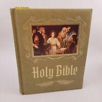Vintage Holy Bible Master Reference Edition Heirloom 1971 Red Letter KJV