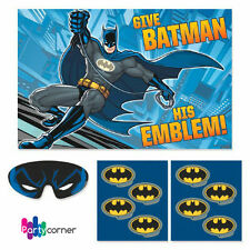 BATMAN PARTY SUPPLIES PARTY GAME FOR 2 TO 8 PLAYERS FREE POSTAGE
