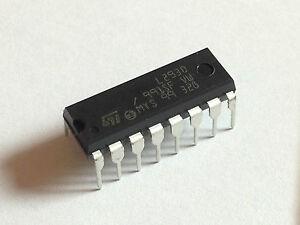 5x L293D | vierfach Halbbrücke DIP-16 | H-Bridge | 5 Stück