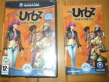 THE URBZ SIMS IN THE CITY NINTENDO GAMECUBE GAME WITH MANUAL UK PAL WII