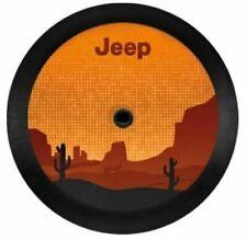 18-2020 Jeep Wrangler Jl Desert Themed Vinyl Spare Tire Cover Factory Mopar New