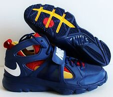 NIKE ZOOM HUARACHE TRAINER MID SUPERMAN SZ 9.5 [414975-416]